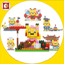 Pikachu Pocket Monster Diamond Building Blocks Cartoon Anime Manga Model Minifigures Bricks Gifts For Children