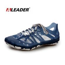 Aleader 2016 mens sandali estate scarpe traspiranti casual scarpe uomo beach sandalo sport scarpe pesca d'acqua zapatos masculino(China (Mainland))