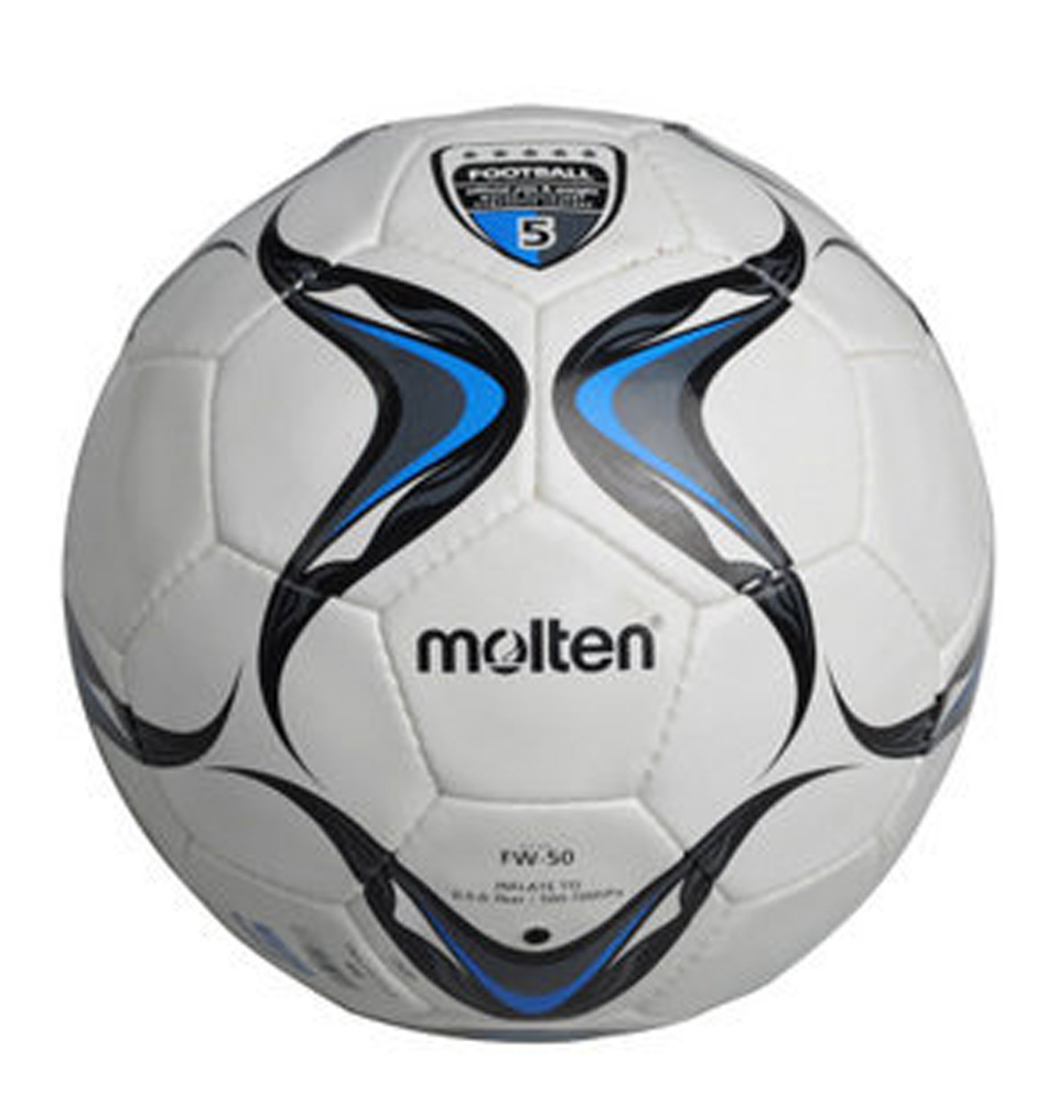 High Quality Molten Football Ball Classic White Official Size 5 Football Ball Soccer Ball Football Game Training Ball For Match(China (Mainland))