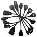 10pcs Lot Best Quality 8 Cables Car OBD2 Diagnostic Cables Truck Cables 8 Set Cables DHL