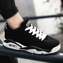 Fashion 2016 Men Casual Shoes Black Suede Leather Men High Top Summer Casual Shoes Breathable Basket Sport Men Boots White Botas(China (Mainland))