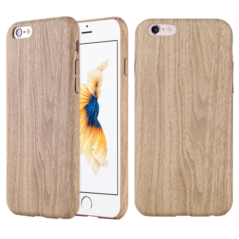 Wood Bamboo Pattern Leather PU Cases For iPhone 6 6s 4.7 / 6 6s Plus 5.5 Case Cover Ultra Thin Retro Accessories Cover(China (Mainland))
