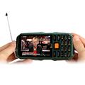 DBEIF D2017 Antenna Analog TV 3 5 handwriting touch screen 9800mAh flashlight power bank dual sim