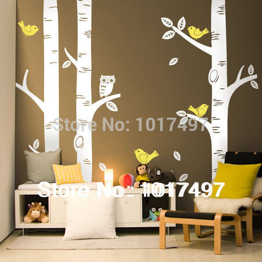 Wall Decor Stickers For Living Room Tree Wall Decor Stickers Promotion Shop For Promotional Tree Wall