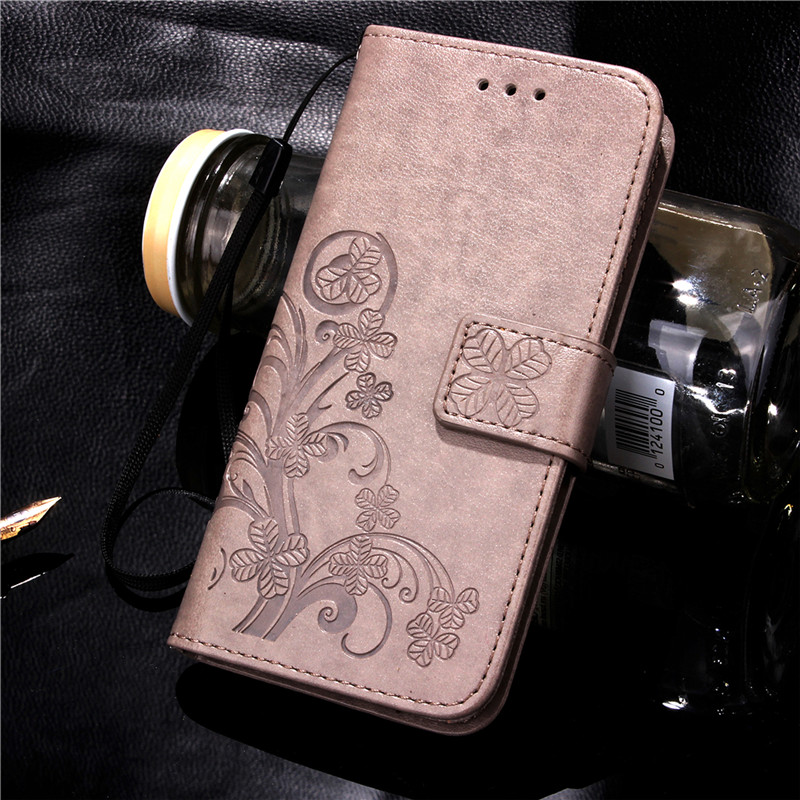 Luxury For 5S iPhone Case 3D Flower Printing Soft Silicone + Leather Wallet Flip Cover Case For iPhone 4S 5S SE 4 5 6 S 6S 6Plus(China (Mainland))