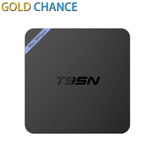 Newest T95N Mini M8Spro Android 6.0 TV BOX Amlogic S905X quad-core cortex-A53 2G/8G Smart Android Tv box