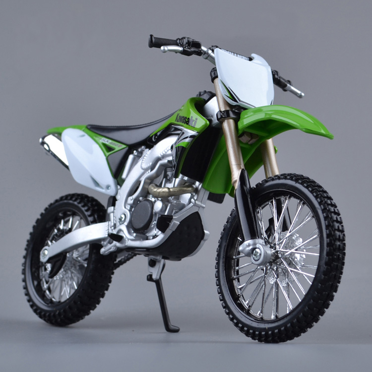 Free Shipping MAISTO 1:12 brand kids Motorcycle KAWASAKI KX 450F model motor bike miniature metal models race toys collectibles(China (Mainland))