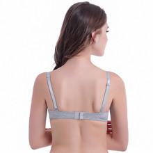 2015 New Arrival Women Comfortable Underwear Ultra Thin Seamless Black Gray White Color Choose Bra B