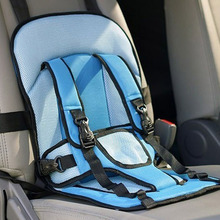 Free shipping child car seat reatil child seat car safety 2 colors red and blue available baby car seats(China (Mainland))