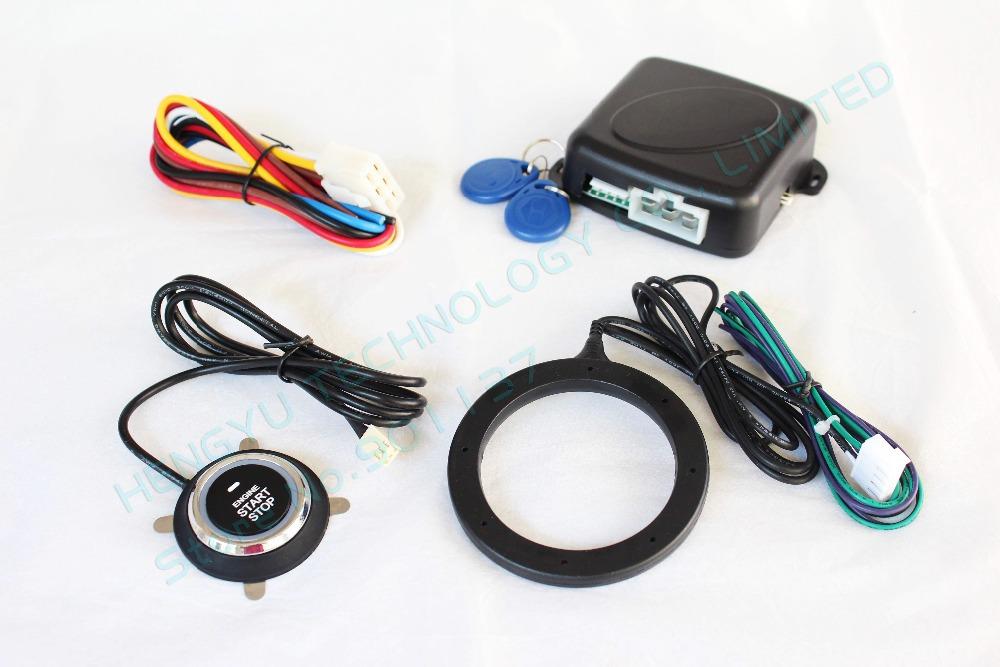 car engine push start button/RFID engine lock FS-55 ignition starter/keyless entry keyless go,push button engine start stop(China (Mainland))