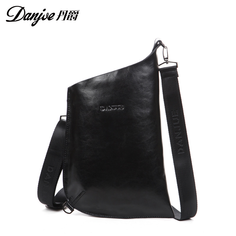 Luxury Stylish Multifunction men bags fashion genuine leather men shoulder messenger bags Natural Cowskin chest packs <br><br>Aliexpress