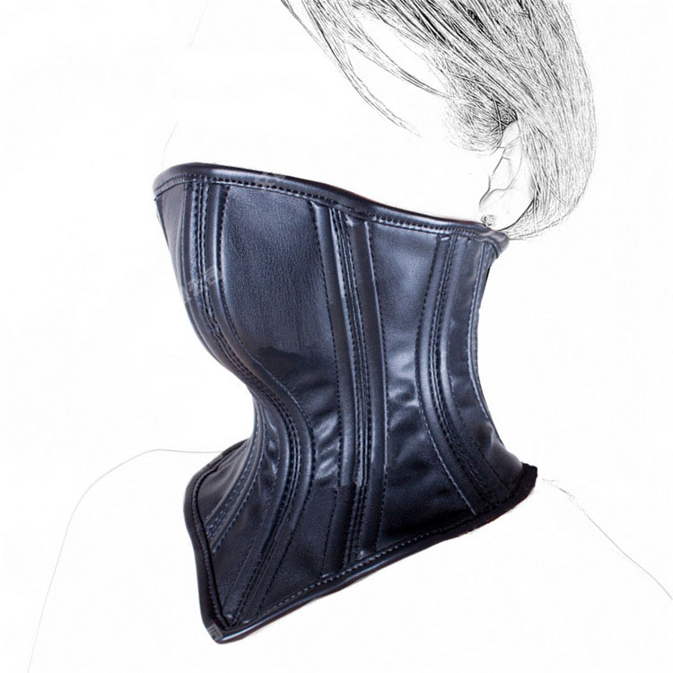 popular leather neck corsetbuy cheap leather neck corset