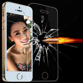9 H тонкий ясно закаленное стекло передней экран протектор чехол для iphone4 4S 4 г i4 бронированая пленка + розничной коробке для Apple , iphone 4