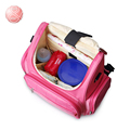 Portable Multifunctional Large capacity Changing Bags Geometric patterns Baby nappy bags diaper bag maternity mummy stroller