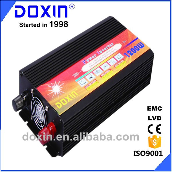 Made In China!High Frequency Inverter Guangzhou Factory High Capacity Modified Sine Wave DC To AC Power Inverter DOXIN 1200W(China (Mainland))