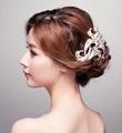 Tiara Noiva Rhinestone Bridal Hair Comb Metal Wedding Hair Combs Vintage Bride Crown Headpiece Tiaras Hair