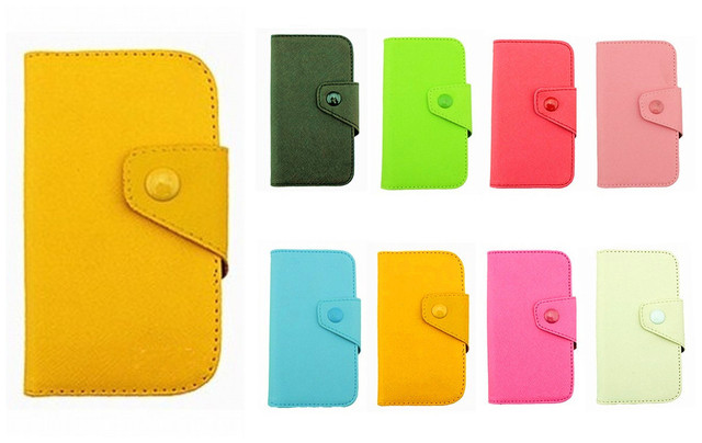 Fancy PU Leather Wallet Case Cover With Magnetic flap closure Diary for Samsung Galaxy Nexus I9250 Smart Mobile Phones