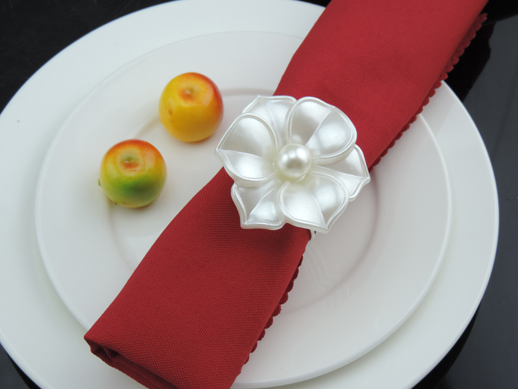 12pcs Napkin Rings Flowers Table Decortative Napkin Rings For Wedding Ring Dinner Napkin Ring
