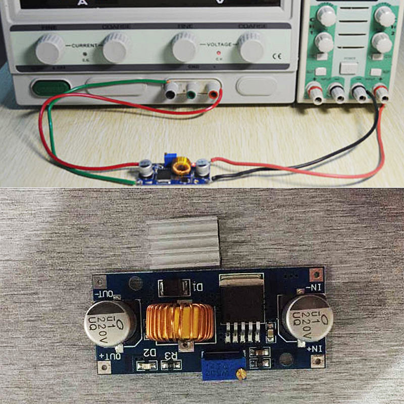 1 PC Hot Selling XL4015 DC-DC Buck Converter Step Down Module Adjustable Power Supply Module LED Lithium Charger VEH42 P50(China (Mainland))