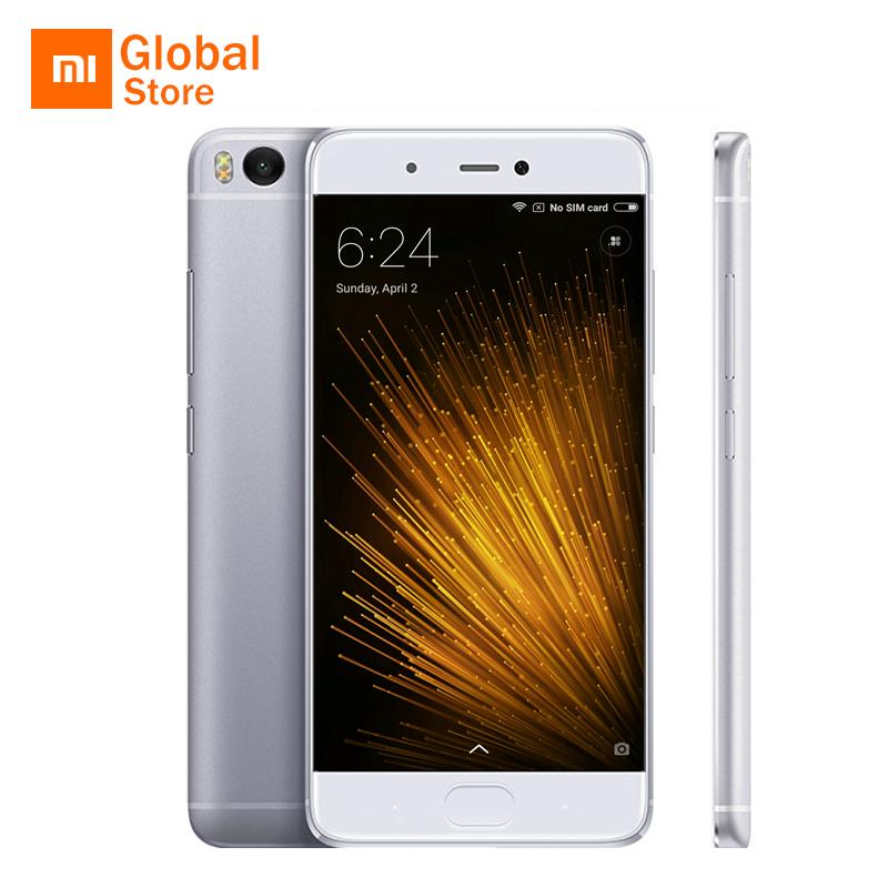 "Original Xiaomi Mi5s Mi 5S 3GB RAM 64GB ROM Mobile Phone Snapdragon 821 Quad Core 5.15""Inch 1920x1080P Fingerprint ID MIUI 8"