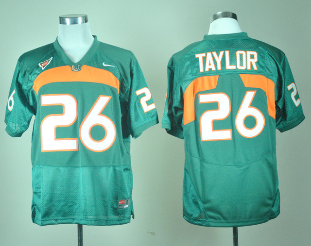 100% Stitiched,Miami Hurricanes,Sean Taylor(China (Mainland))