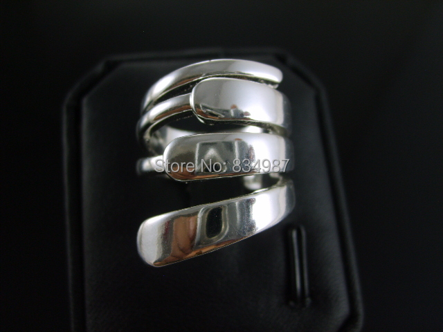 2014 cheap fashion jewelry Three ms flake geometry gold-plated silver plated ring - chuncheng yan's store