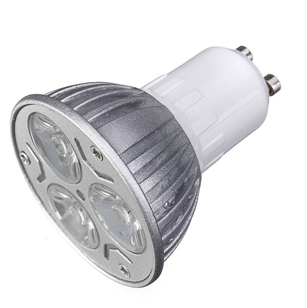High Quality GU10 3W 3 LED High Power Spotlight Home Light Lamp Bulb 220V Red/Blue/Yellow/Green(China (Mainland))