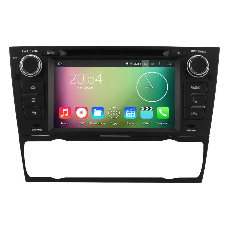 Android 4 4 4 Car DVD radio for BMW E90 E91 E92 E93 3 Series Quad