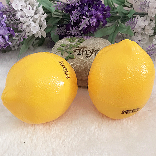 Cute Hot Anti-aging whitening lemon Hand Cream 30g/moisturizer hand lotion Lemon flavor of moisturizingd cream 30g(China (Mainland))