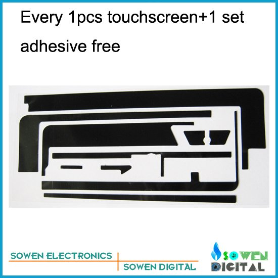 Touch screen for ipad 2 digitizer Touch panel White or Black,1set 3M adhesive Free,Free shipping,Best quality
