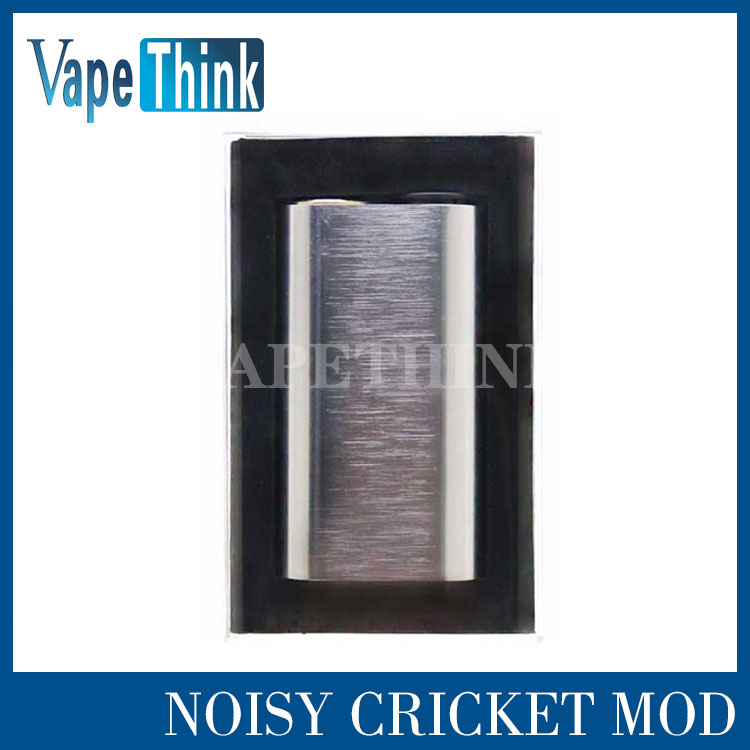 promotion Authentic Wismec Noisy Cricket Mod SMPL Style Button Hybrid Adaptor Bottom 18650 Box Mod Wismec Noisy Cricket Mod<br><br>Aliexpress