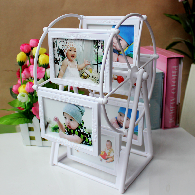 The new 5 -inch frame carved wheel windmill Children swing sets wedding photo(China (Mainland))