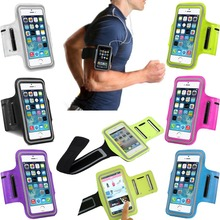 Sports Running Cover for iPhone 6 Gym Arm Band Nylon Case For iphone 5 5S 6 6S / Plus Sport Cover Bag Phone Cases Coque Fundas(China (Mainland))