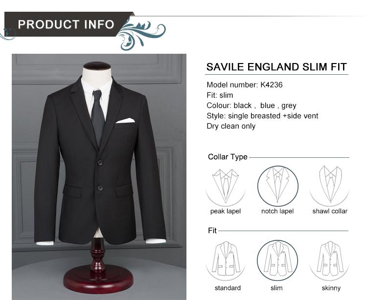HTB1eI3RPFXXXXXQXVXXq6xXFXXXE - 2017 Men Business Suit Slim fit Classic Male Suits Blazers Luxury Suit Men Two Buttons 2 Pieces(Suit jacket+pants)