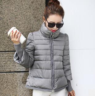 2014 Women Jacket Winter Winter Coat Short Thick Warm Women Coat Casual Solid Female Down Coat Parkas Plus Size M-2XL JX149Одежда и ак�е��уары<br><br><br>Aliexpress