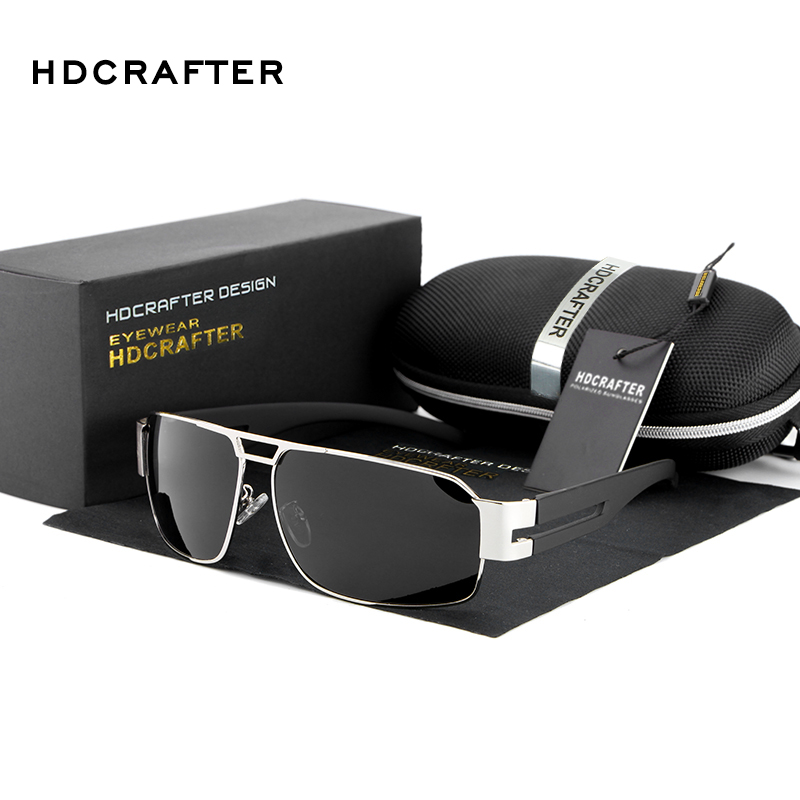 HDCRAFTER 2016 Mens Sun Glasses Fashion polarizing Glasses Driving Sunglasses Men Brand Ultraviolet Prevention Sunglasses(China (Mainland))