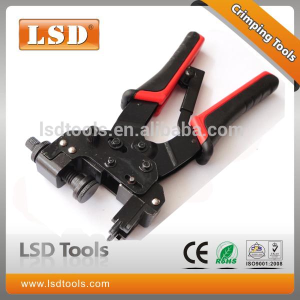 LS-DE156 RJ45/RJ11 network tool BNC/RCA connector compression crimping tool amp plug netwrok tools(China (Mainland))