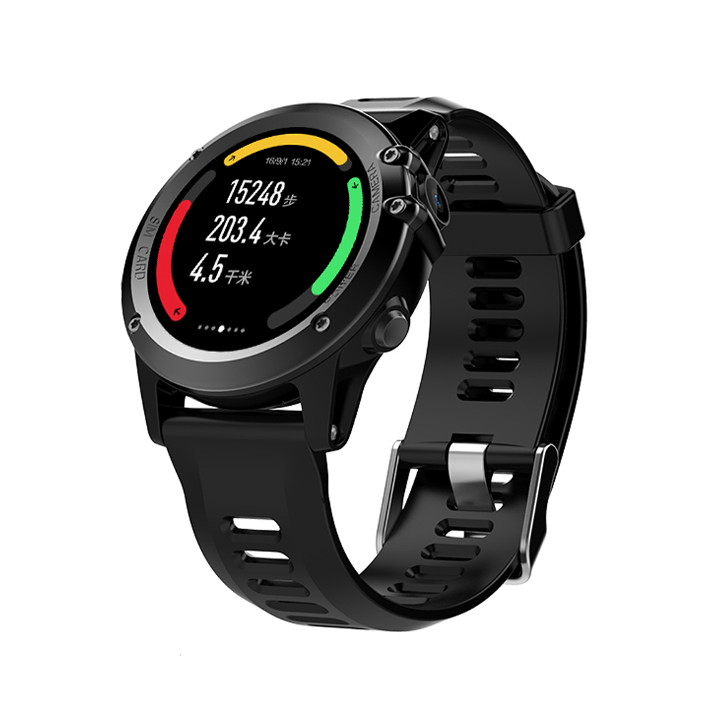 New Origanal WIFI Smart Watch IP68 GPS Android Wrist Watch MTK6572 4G+512M With 5.0M HD Camera Heart Rate Monitor 3G Video Call(China (Mainland))