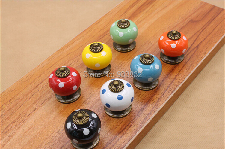 Children's Furniture Knobs Cartoon Knobs for Kids Bedroom Furniture Fittings(China (Mainland))