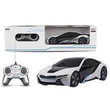 Electric Remote Control Toys Radio Control drift stunt LIGHT RC I8 Concept Car For Boys children Christmas Birthday gift(China (Mainland))