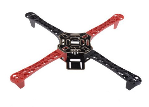 RC plane F450 Multi Rotor Air Frame Flamewheel Kit 450f As Dji for Kk Mk Mwc 4 Axis Rc Multicopter Quadcopter Ufo Heli(China (Mainland))