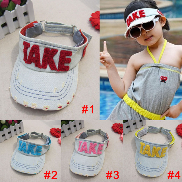 Hot new retail children's baseball cap hat TAKE laundry water cowboy hat parent-child cap 4 color children cap free shipping