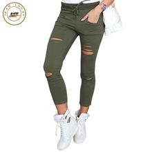 Army green skinny cargo pants online shopping-the world largest ...