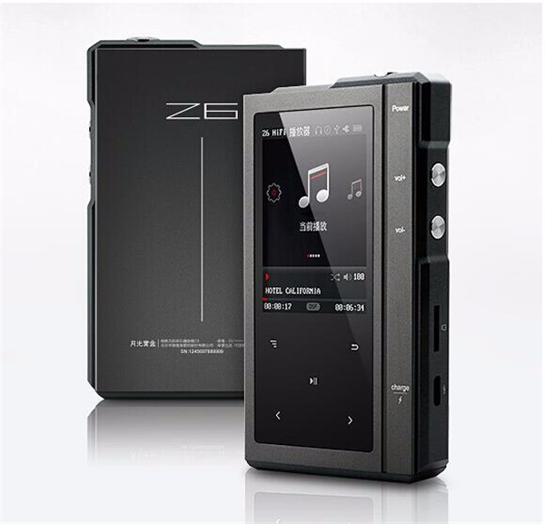 2016 Original Moonlight AIGO Z6 Hard DSD MP3 Player CS4398 DAC Hifi Music Player Dual-Core CPU With 32G TF Card & Leather Case 9