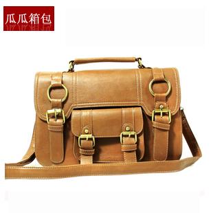 Shaping 2013 student bag new arrival fashion vintage preppystyle handbag messenger bag side bag fashion women's handbag
