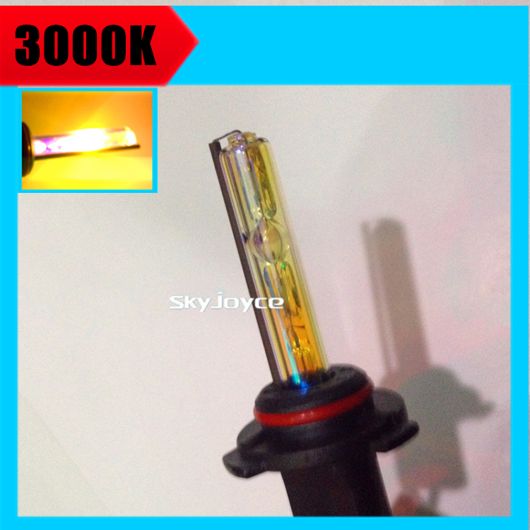 2X 35W xenon H1 H7 H11 3000K Golden yellow hid xenon lamp bulb globe replacement H8 H9 9005 9006 HB3 HB4 MARZDA KI A MINI(China (Mainland))
