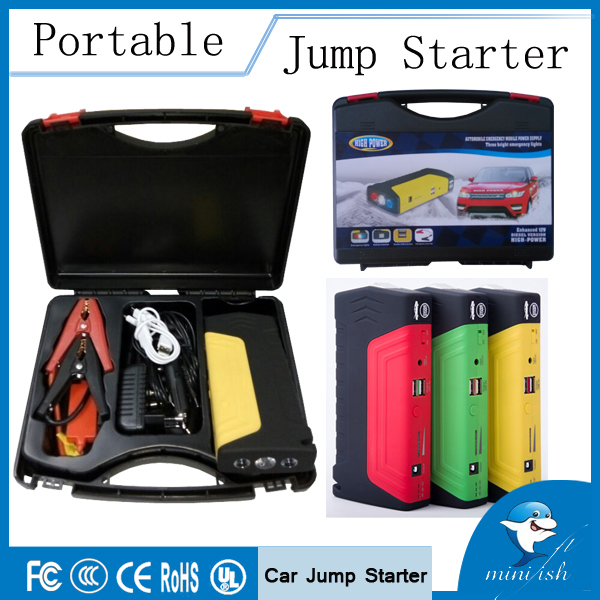 2015 Hot Selling Products Manufacturer Emergency Kits 12V Mini Portable Car Jump Starter For Motorcycle Power Bank(China (Mainland))