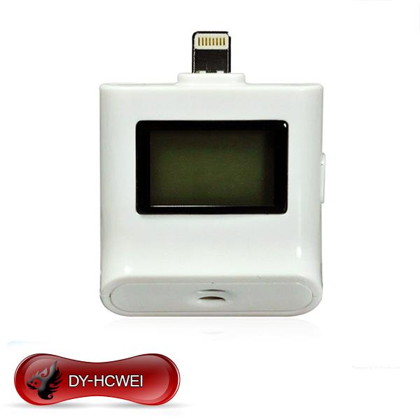 2015 Hot Sale New High Quality Digital LCD Breath Alcohol Tester for iPhone 5 iPad4 iPad mini breathalyzer Free Shipping(China (Mainland))