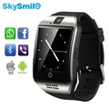 Original Q18 Bluetooth Smart Watches NFC Wristbands Smartwatch NFC Sync SMS Facebook Touch Screen SIM For