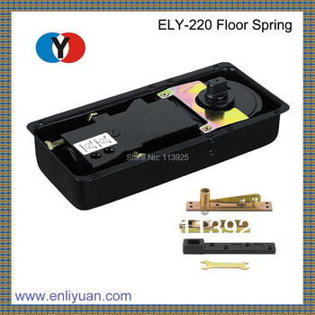 ELY-220 High Quality Small  Floor Spring Hinge Low Capacity with Wooden Door Accessories